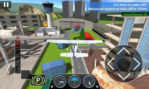 Airplane flight simulator RC für Android