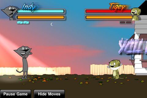 Street Cat Fighter für iPhone