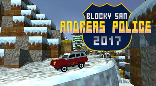 Blocky San Andreas police 2017 screenshot 1