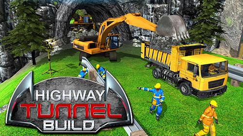 Tunnel highway: Build, construct and cargo simulator скріншот 1