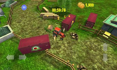 Arcade games Farm Driver Skills competition for smartphone