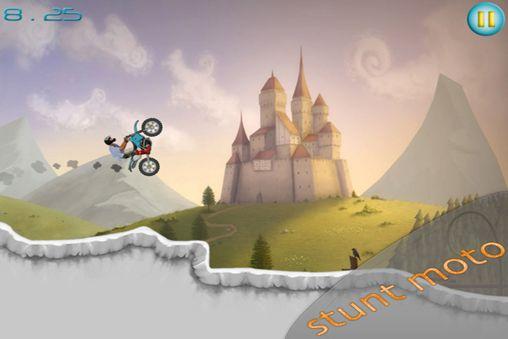 Stunt Moto Experimente für iPhone