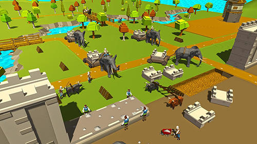 Security wall construction game para Android
