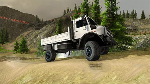 Forest truck simulator captura de pantalla 3