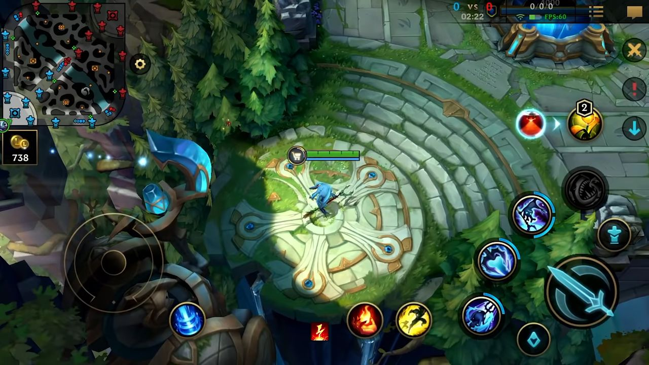 League of Legends: Wild Rift скриншот 1