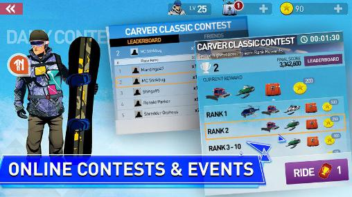 Snowboard legend screenshot 1