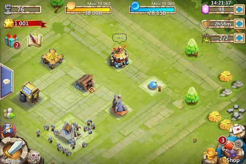 Combat des châteaux