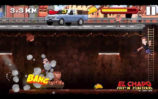 Plattformer El Chapo: Fat'n furious! auf Deutsch