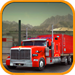 Truck driver 3D: Simulator Symbol