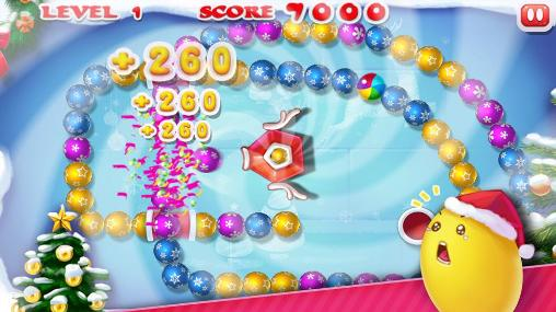 Zuma Marble blast: Merry Christmas auf Deutsch