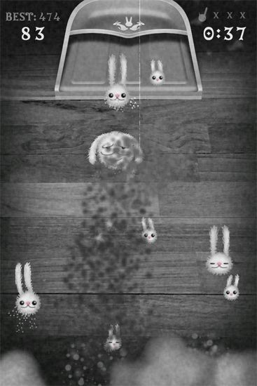 Arcade games: download Dust those bunnies! to your phone