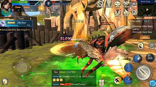 RPG Zilant: The fantasy MMORPG für das Smartphone