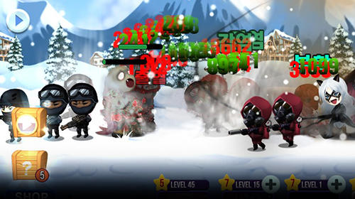 Zombie games Zombie corps: Idle RPG in English