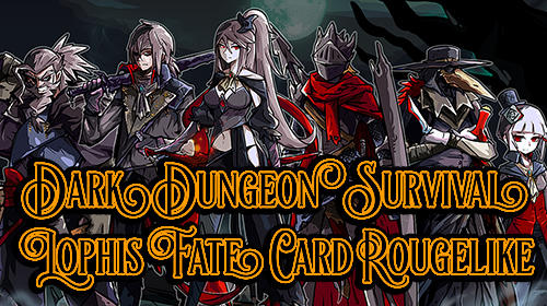 Dark dungeon survival: The call of Lophis. Fate card rougelike Screenshot