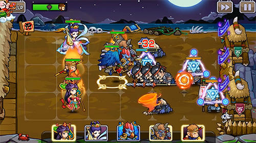Action RPG Secret kingdom defenders: Heroes vs. monsters! auf Deutsch