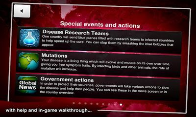 Capturas de tela de Plague Inc