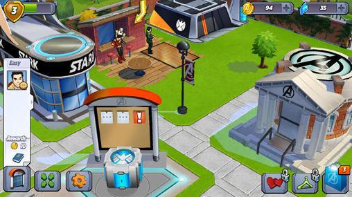 Juegos de superhéroes Marvel: Avengers academy en español
