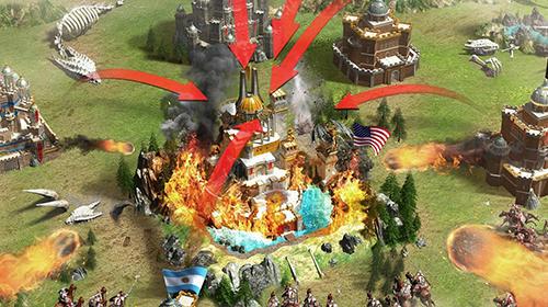 Online Strategiespiele Rise of empire auf Deutsch