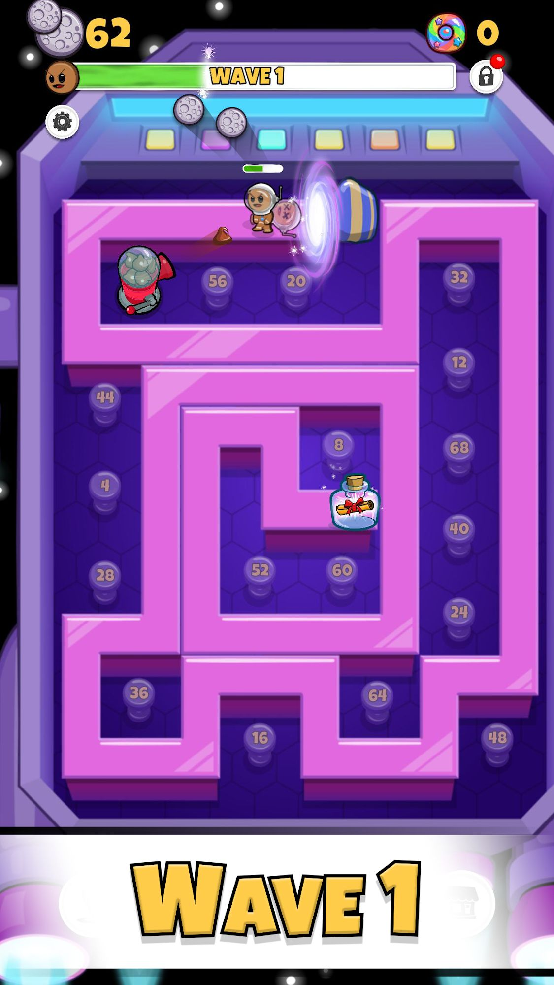 Cookies TD - Idle TD Endless Idle Tower Defense скриншот 1