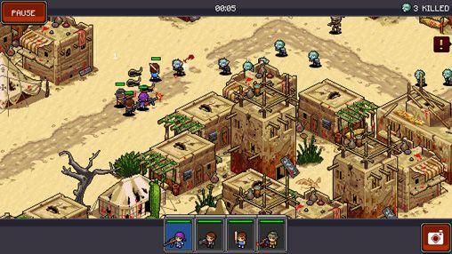 Strategiespiele: Lade Zombie Kommando auf dein Handy herunter