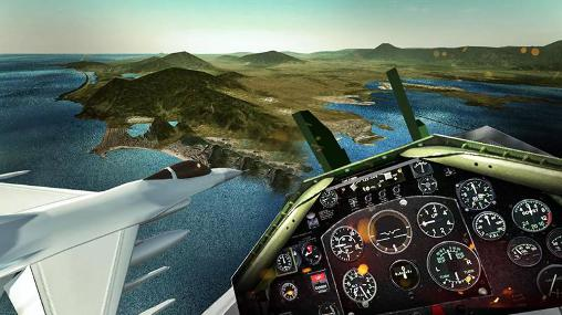 F18 army fly fighter jet 3D para Android