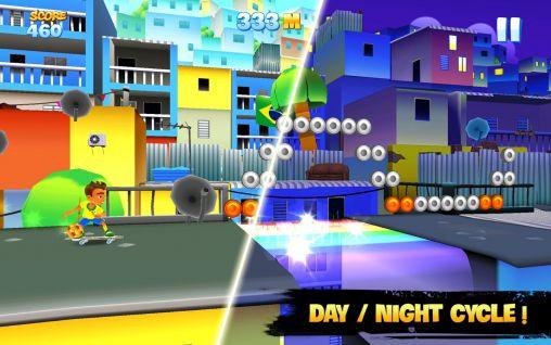 Arcade-Spiele Skyline skaters: Welcome to Rio für das Smartphone