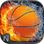 Basketball showdown icon