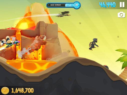 Arcade-Spiele Ski safari 2 für das Smartphone
