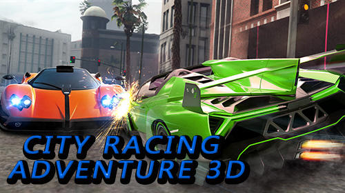 City racing adventure 3D Symbol