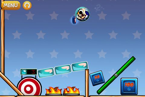 Screenshot Hank Hazard: Der Stunt Hamster auf dem iPhone