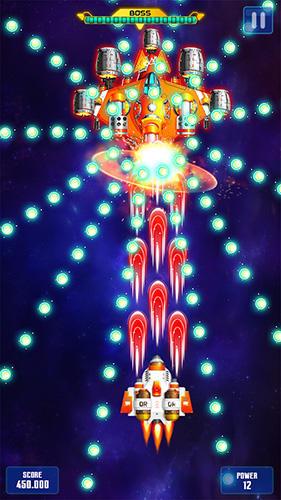 Space shooter: Galaxy attack скриншот 1