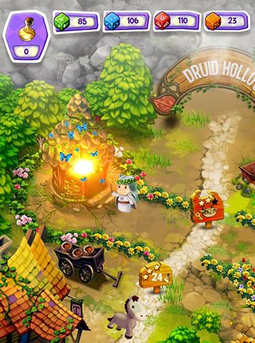Logik Cubis kingdoms: A match 3 puzzle adventure game für das Smartphone