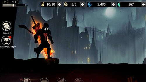 Shadow of death. Dark knight: Stickman fighting capturas de pantalla