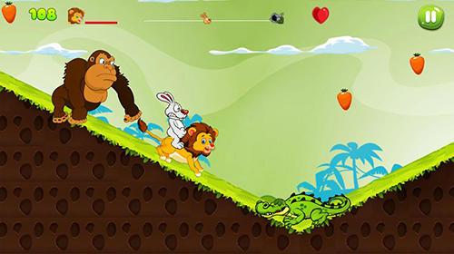 Arcade Bunny run 2 für das Smartphone