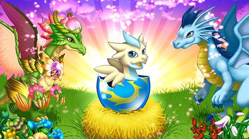 Haustiere Dragon x dragon: City sim game auf Deutsch