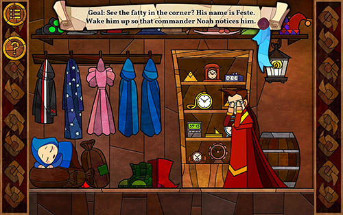 Message quest: Adventures of Feste Screenshot