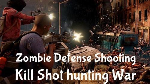 Zombie defense shooting captura de tela 1