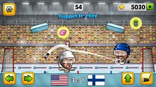 Puppet ice hockey 2014 für Android