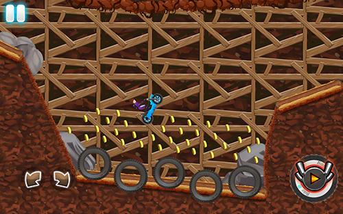Arcade games Monster bike motocross for smartphone