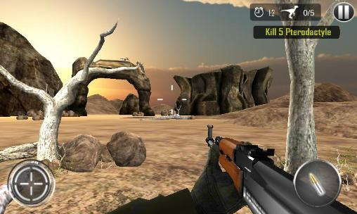 Dinosaur hunt: Deadly assault for Android