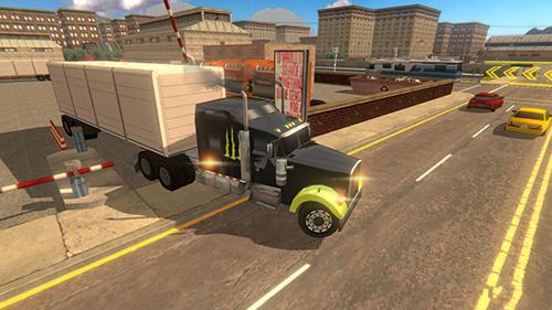 Truck driving Truck simulator 2019 in English