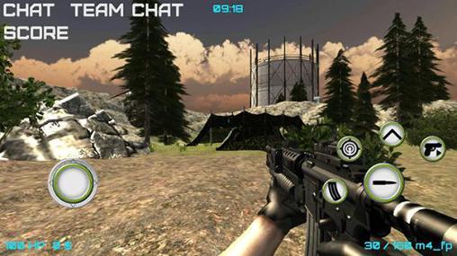 Jogos de ação Modern wars: Online shooterpara smartphone