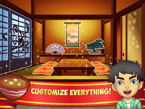 Arcade My sushi shop für das Smartphone