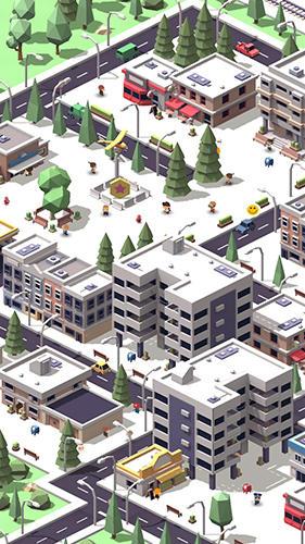 Idle island: City building tycoon скриншот 2