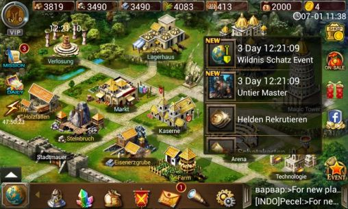 Age of warring empire for Android
