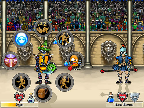 Swords and sandals 2: Emperor's reign für Android