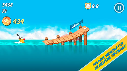 Arcades Woody: Endless summer pour smartphone
