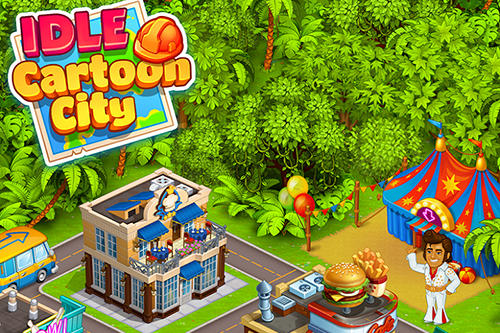 Idle cartoon city screenshot 1