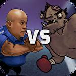 Police vs zombies Symbol