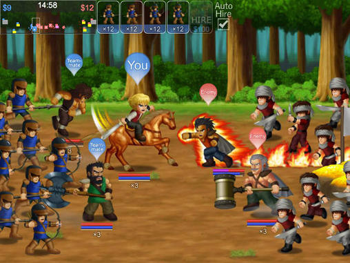 Hero fighter X Screenshot